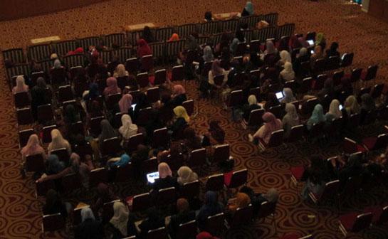 Dokumentasi Pemutaran dan Diskusi di UIN Jakarta